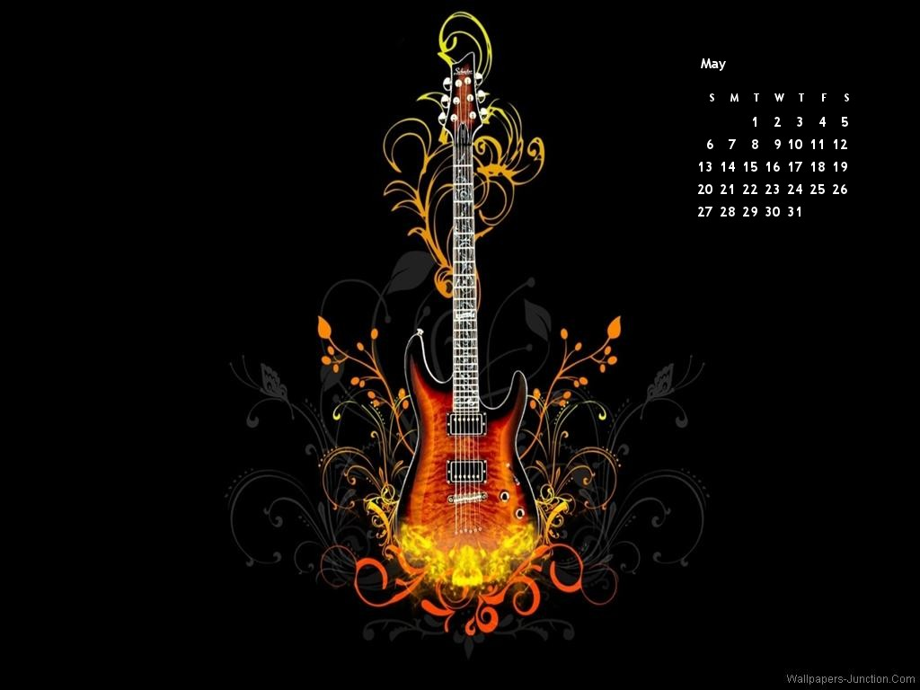 2012 May Month Calendar Wallpapers 1024x768