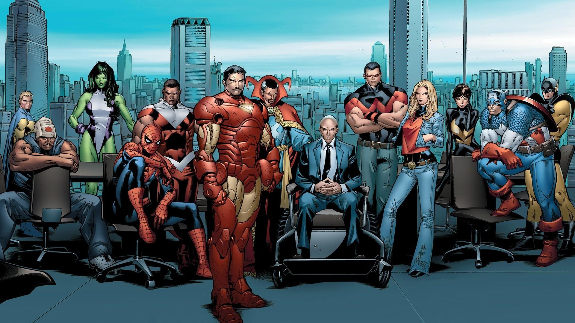 Marvel Comics Characters Wallpaper 3238 1920x1080