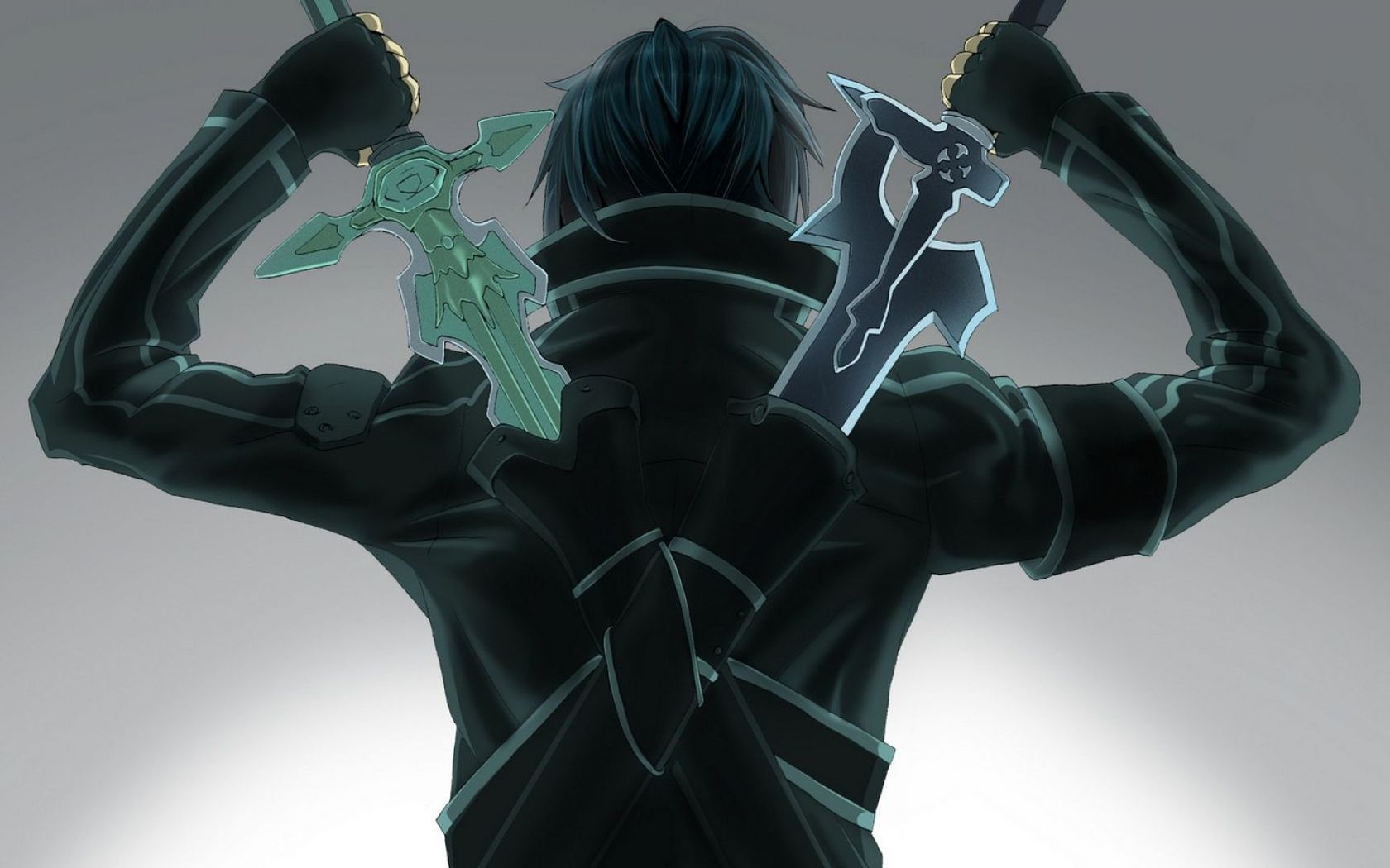 Cool Kirito [SAO] wallpaper works well for a phone background 1680x1050
