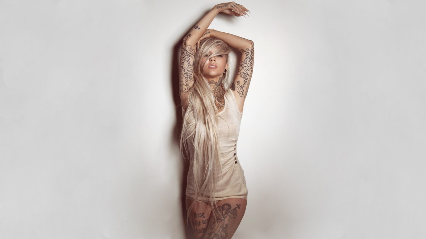 tattoo girl hd wallpaper - photo #29