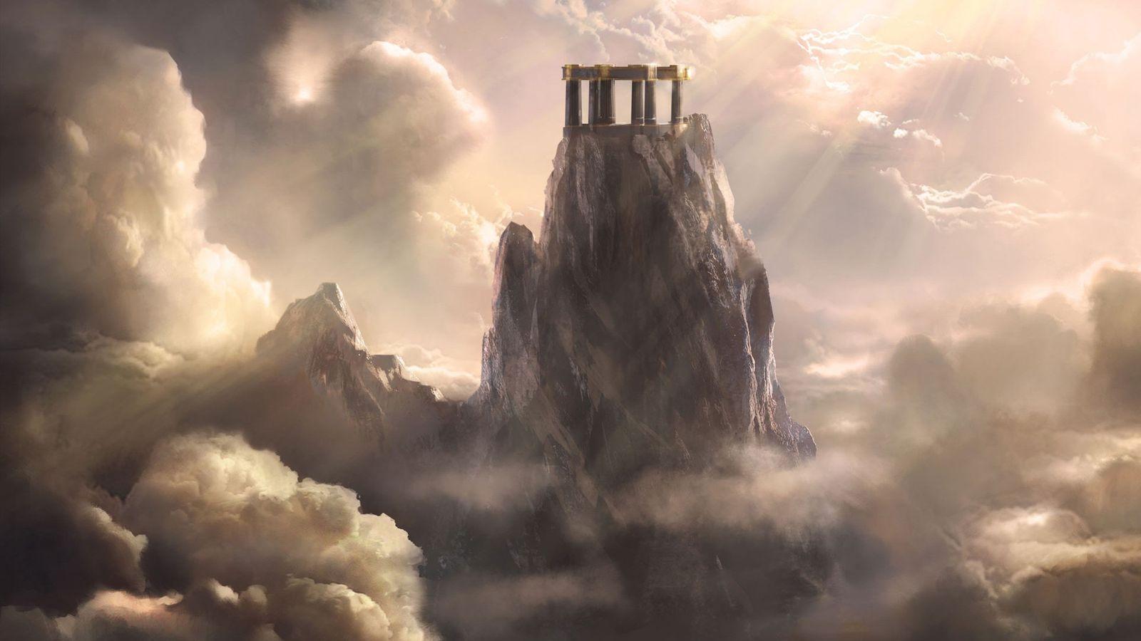 Mount Olympus God of War Ascension Wallpaper   Wallpaper Stream 1600x900