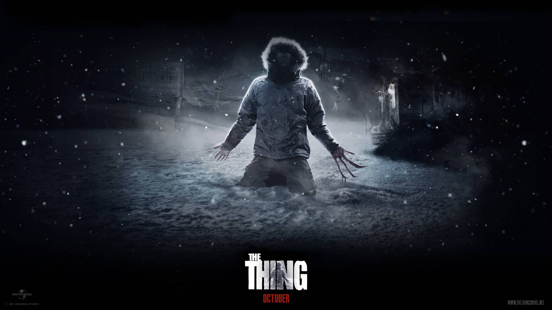 The Thing 2011 Wallpaper   Science fiction Wallpaper 1920x1080