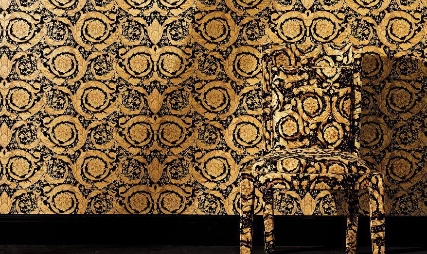 versace hd wallpaper wallpapersafari. Black Bedroom Furniture Sets. Home Design Ideas