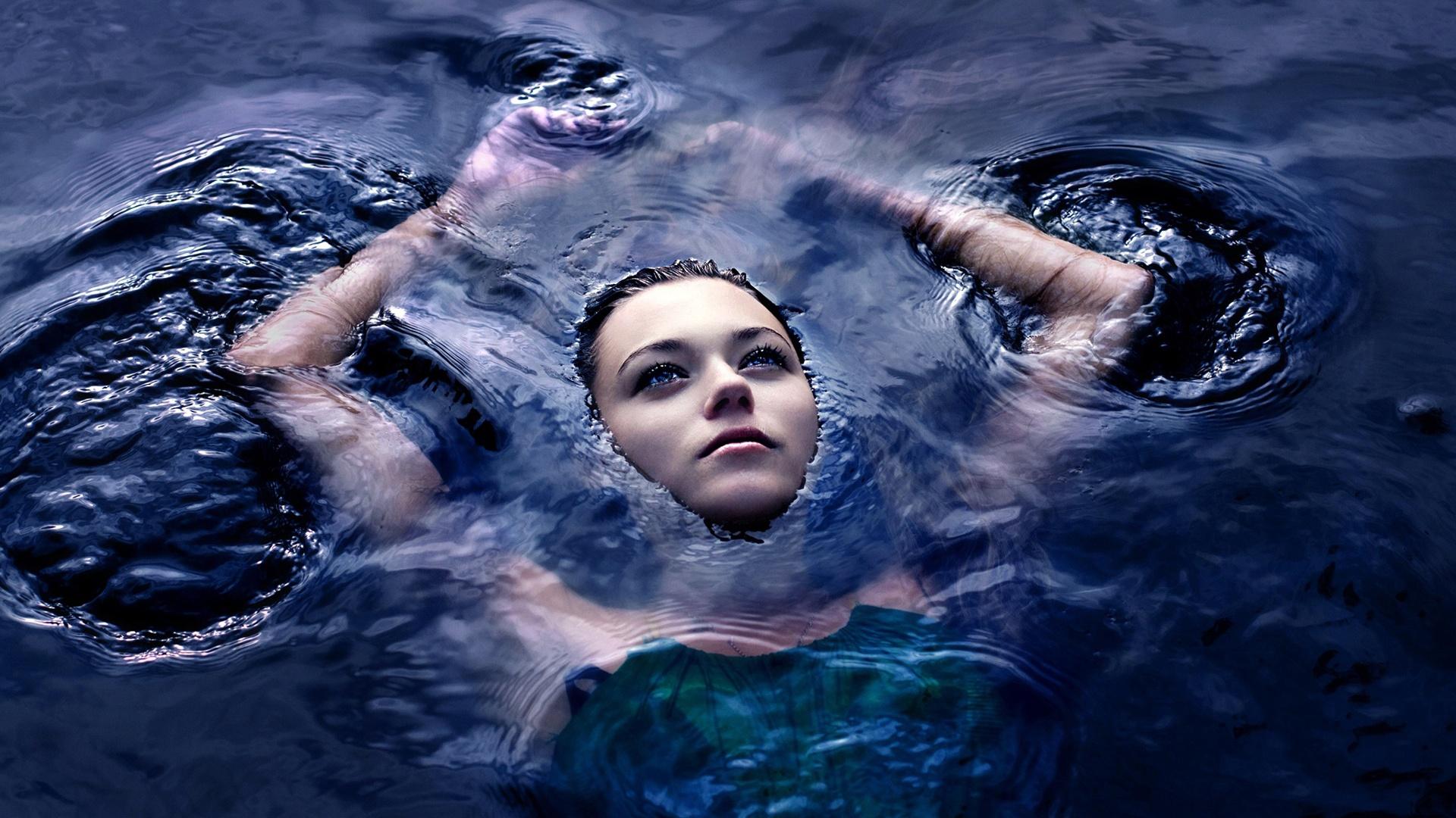 Girl in the water Wallpaper Desktop Wallpapers Wallpapers 1920x1080