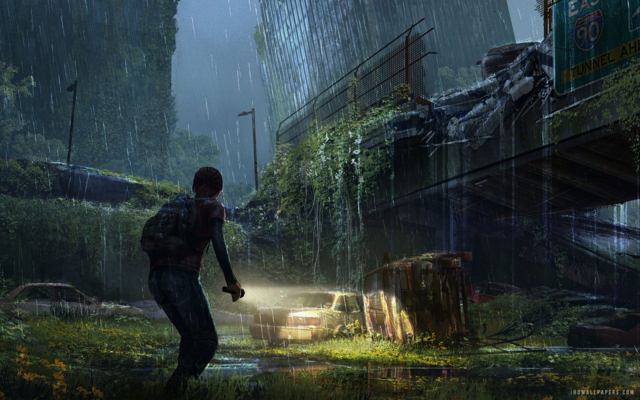 Ellie in The Last of Us HD Wallpaper   iHD Wallpapers 1280x800