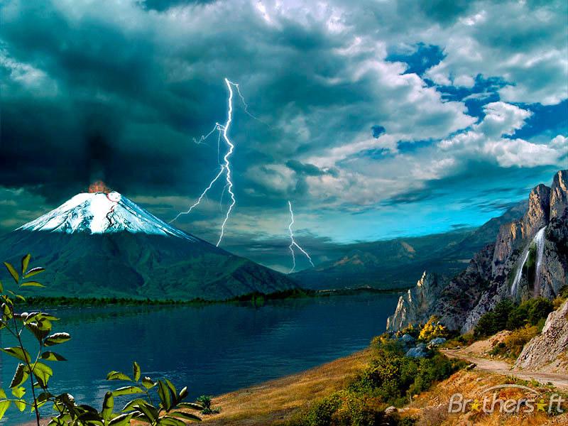Download Active Volcano Screensaver Active Volcano Screensaver 1 800x600