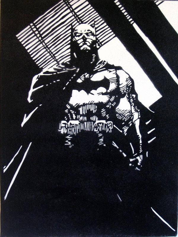 Jim Lees Batman by theposhtiger 600x798