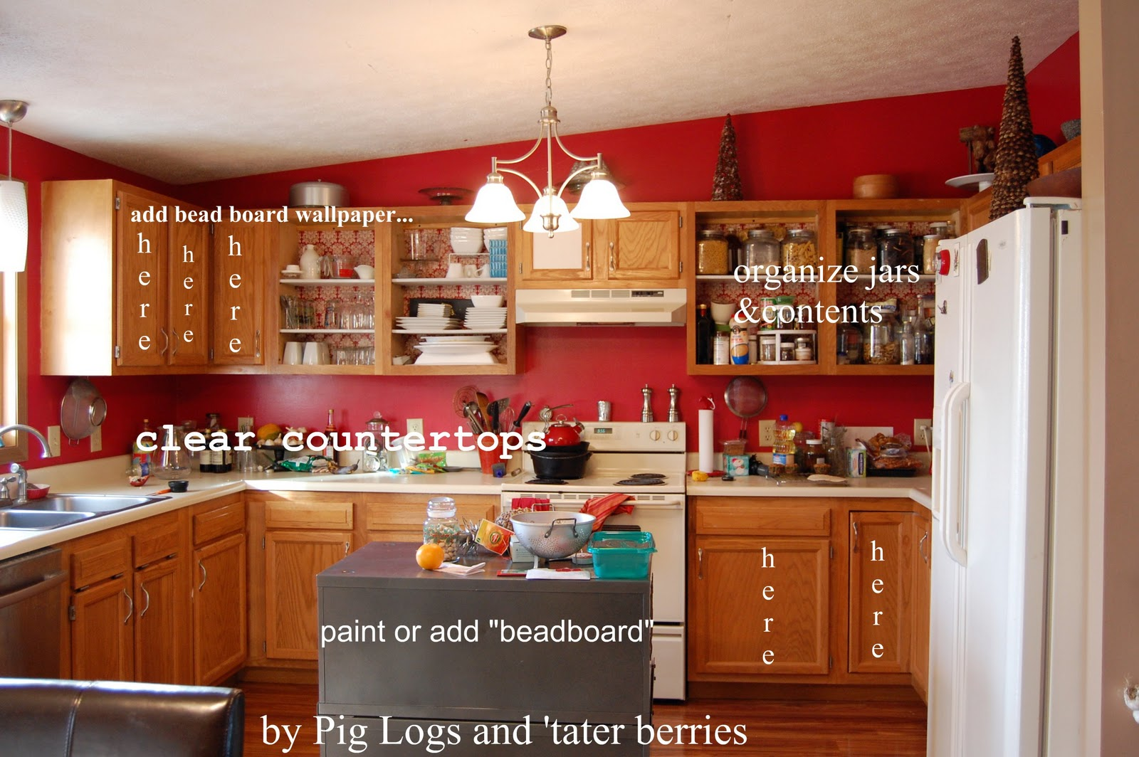 Pig Logs and tater berries A Picture Perfect Room challenge 1600x1064