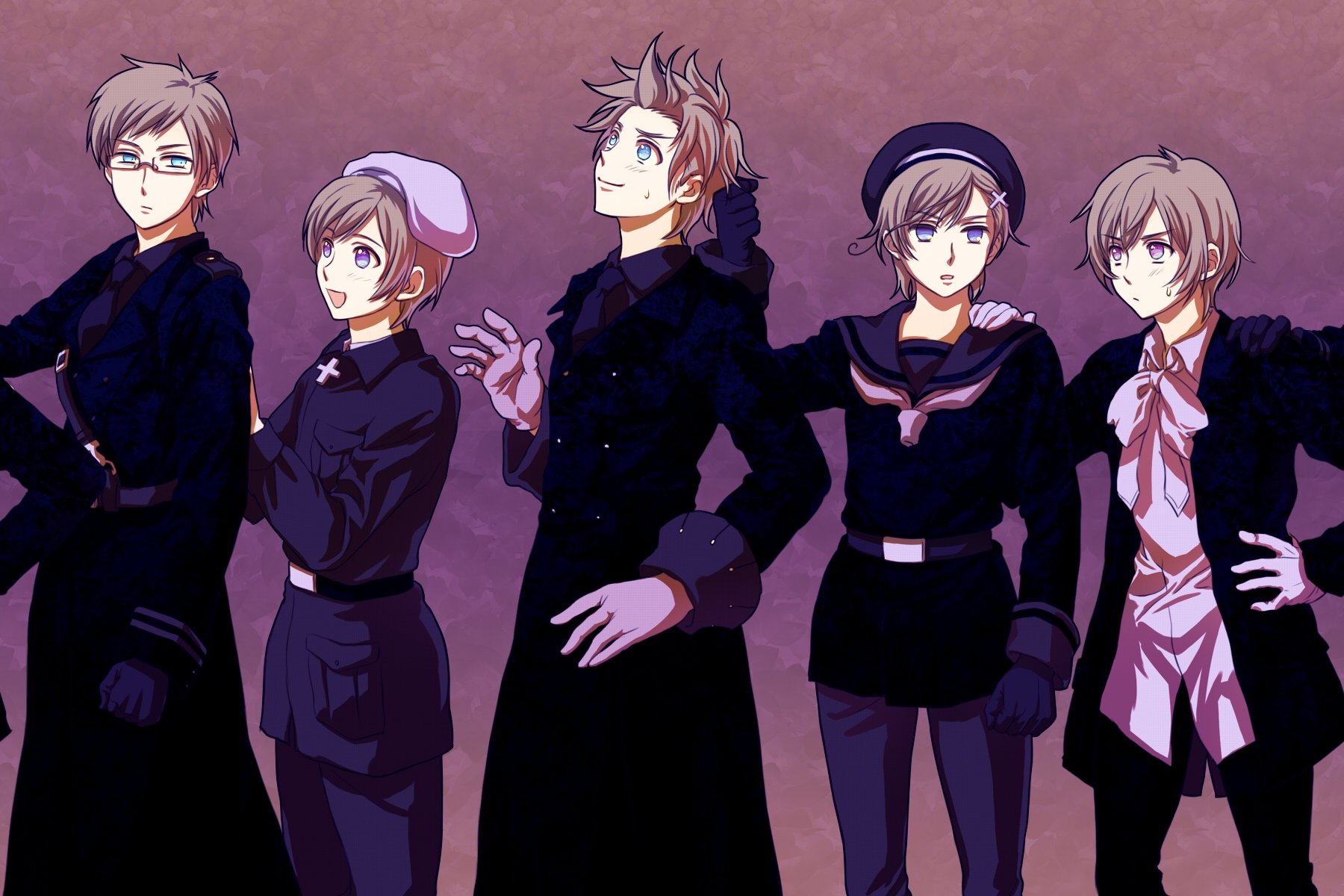 Axis Powers Hetalia Nordic Countries h wallpaper 1800x1200 306959 1800x1200