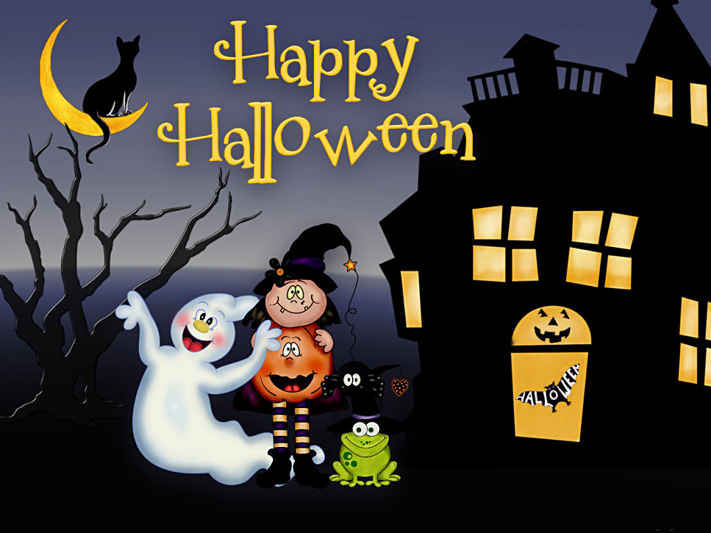 Free animated halloween wallpaper wallpapersafari - Funny happy halloween wallpaper ...