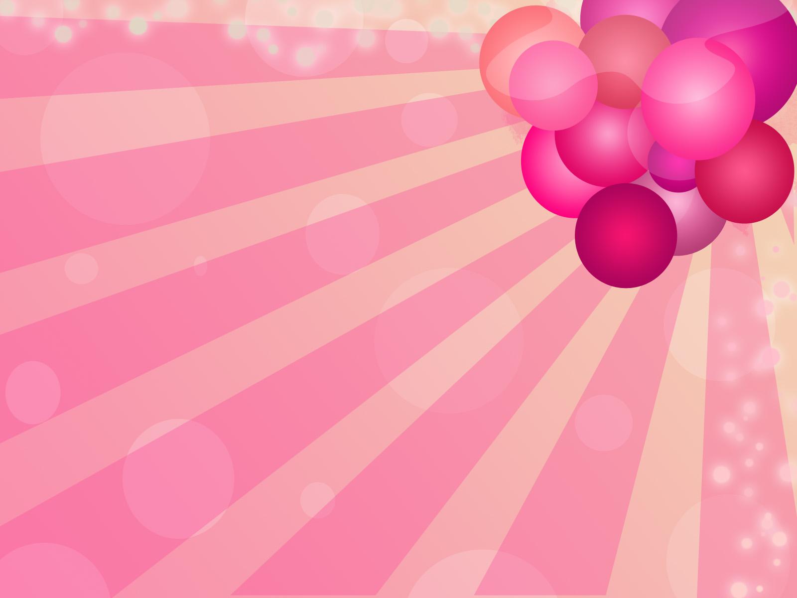 Cute Pink Wallpaper HD Background 1600x1200