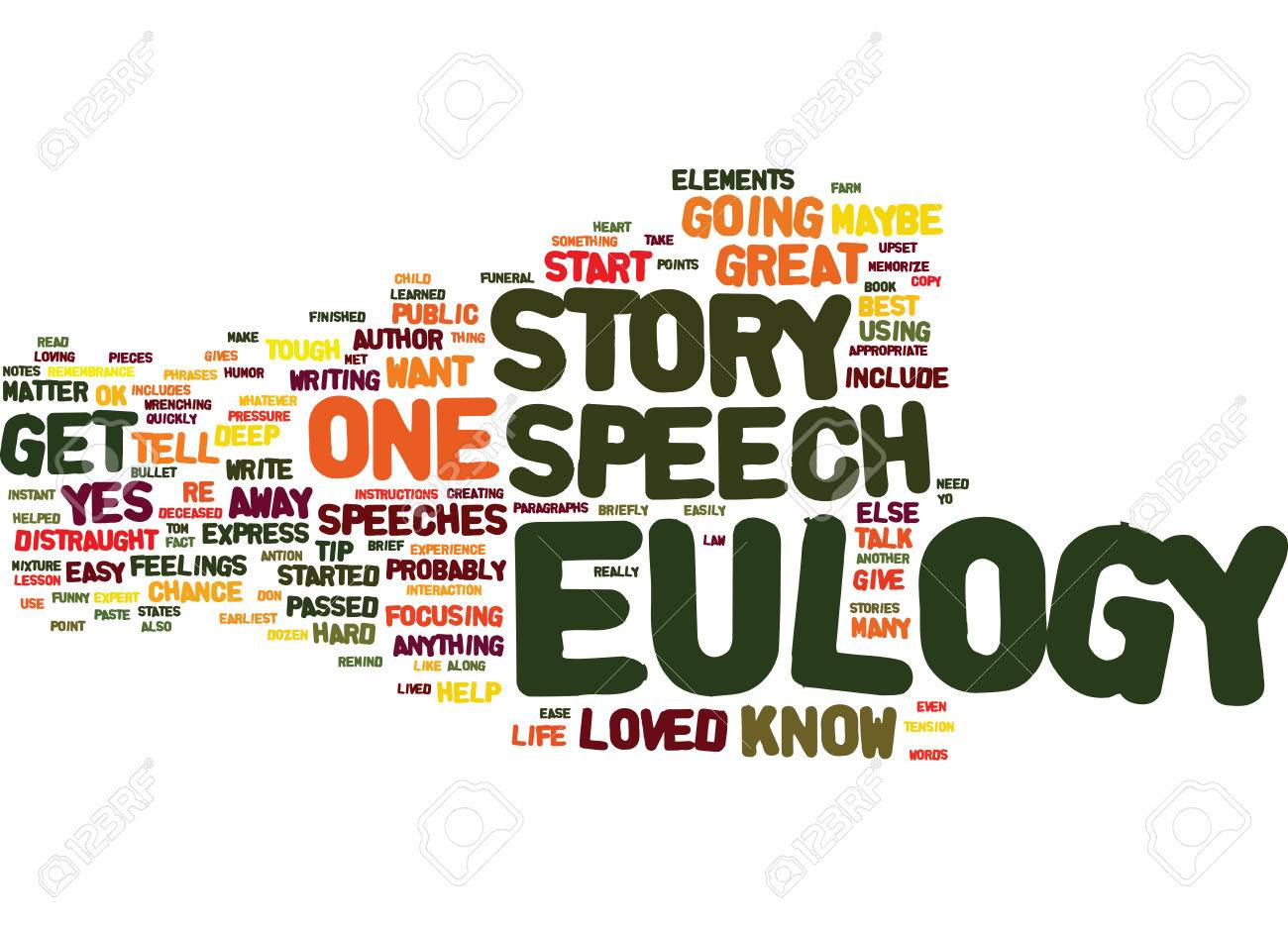 EULOGY SPEECHES USE A STORY TO HELP YOU GET STARTED Text 1300x938