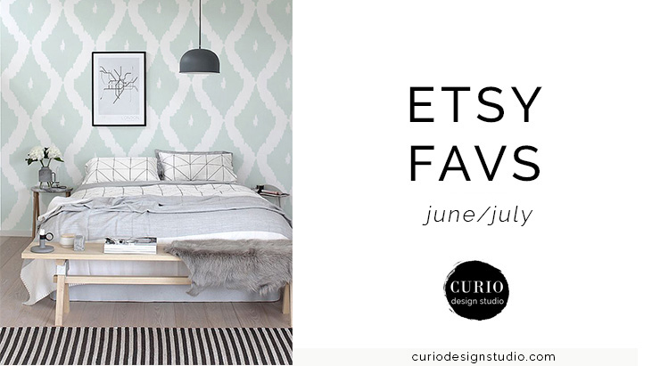 ETSY FAVS Removable Wallpaper 740x411