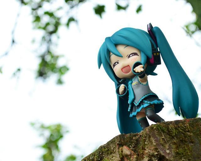 Cute Hatsune Miku HD Wallpaper 7483 640x512