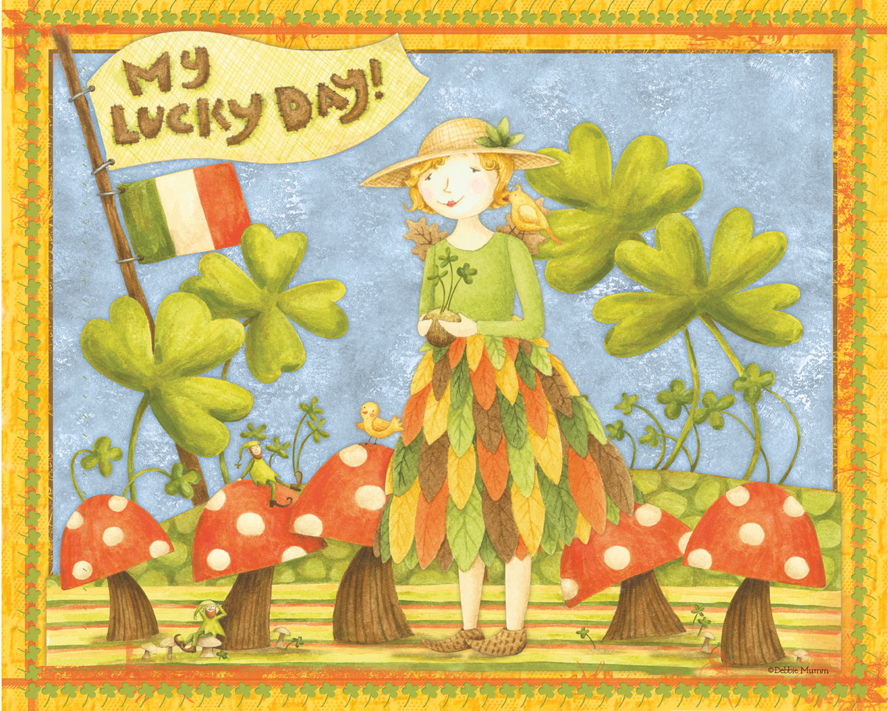 My Lucky Day St Patricks Graphics Pinterest 1280x1025