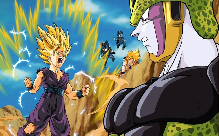 Animation Hd Wallpapers Subcategory Dragon Ball Z Hd Wallpapers 728x454