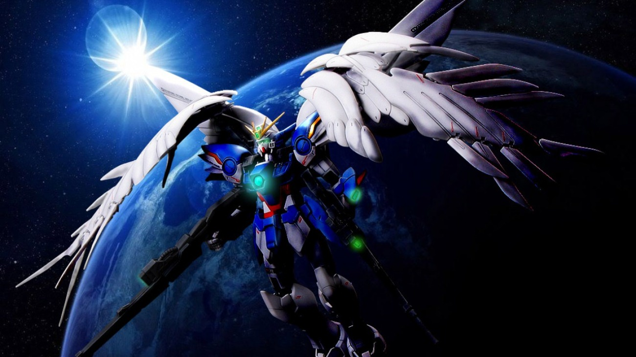 gundam wing zero wallpaper wallpapersafari