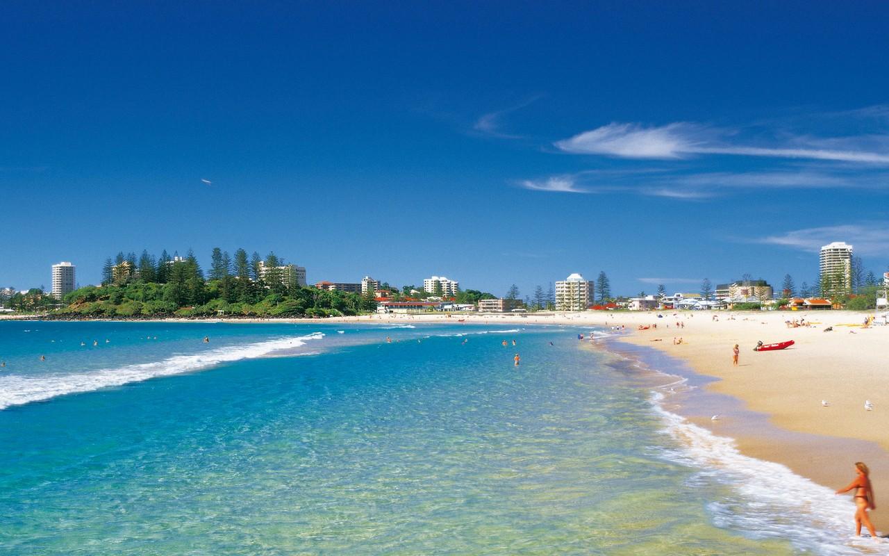 Photo of tropical beach screensaver High Resolution Wallpaper 1280x800