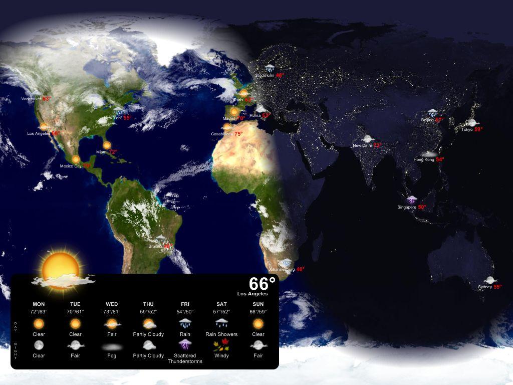 49+ Best Live Weather Wallpaper on WallpaperSafari