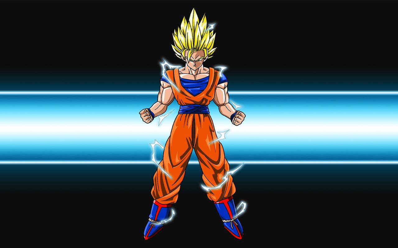 Super Saiyan Goku Wallpaper hd   screenshot 1280x800