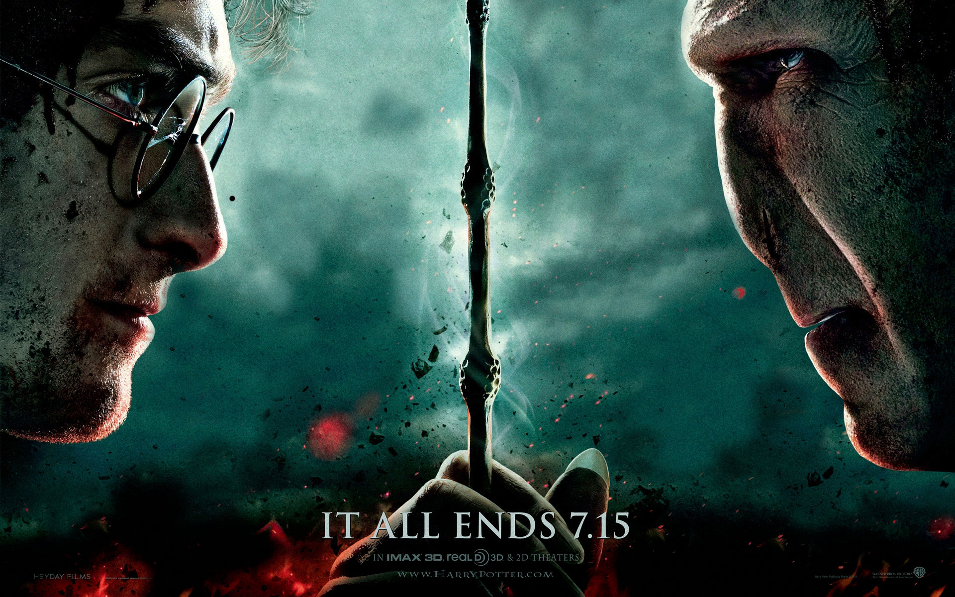 Harry Potter and the Deathly Hallows Part 2 Wallpaper Mac 1920x1200