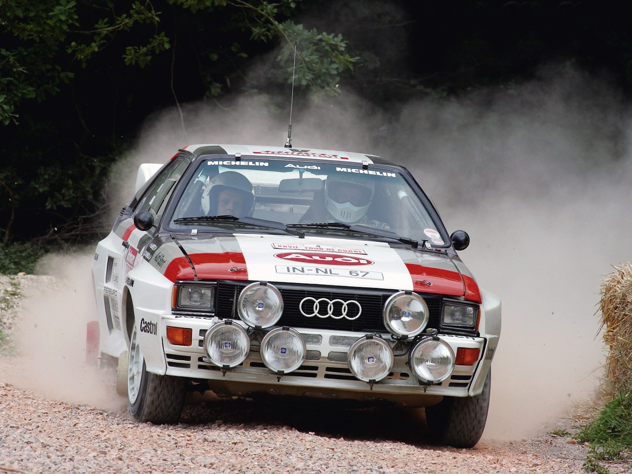 Audi Quattro Group B Rally Car Wallpapers Cool Cars Wallpaper 1280x960