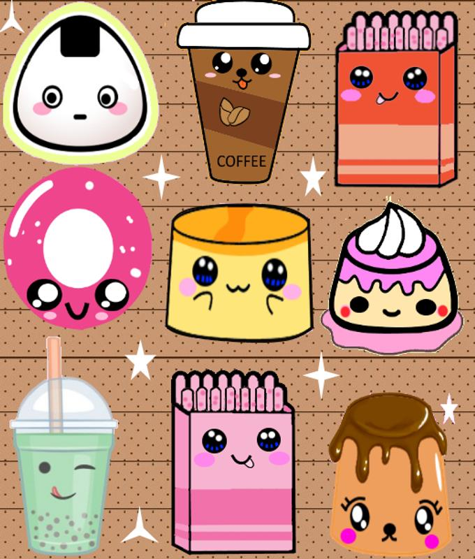 Cute Food Wallpaper for Android   APK Download 680x800