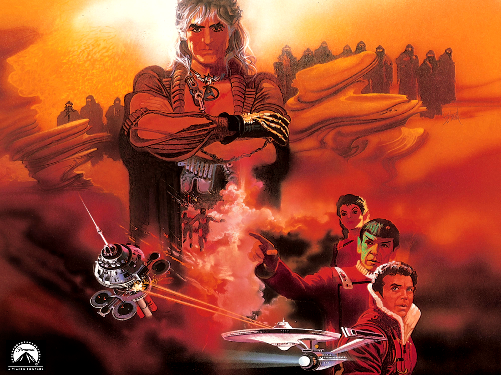 Star Trek II The Wrath of Khan Wallpapers and Background Images 1600x1200