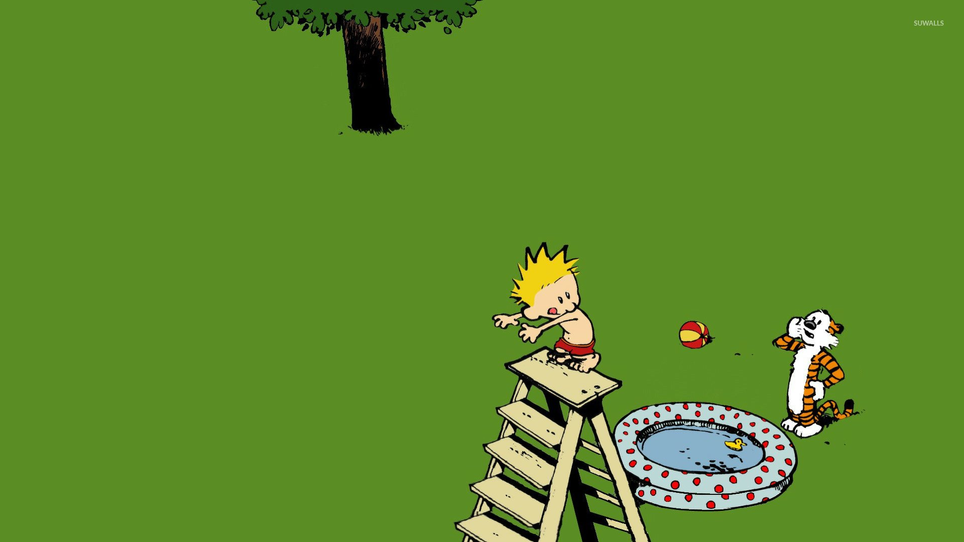 Calvin and Hobbes wallpaper   Cartoon wallpapers   15379 1920x1080