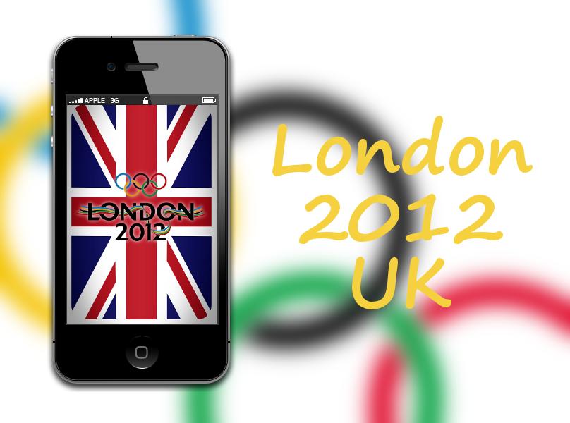 London 2012 UK iPhone Wallpaper by biggzyn80 808x600
