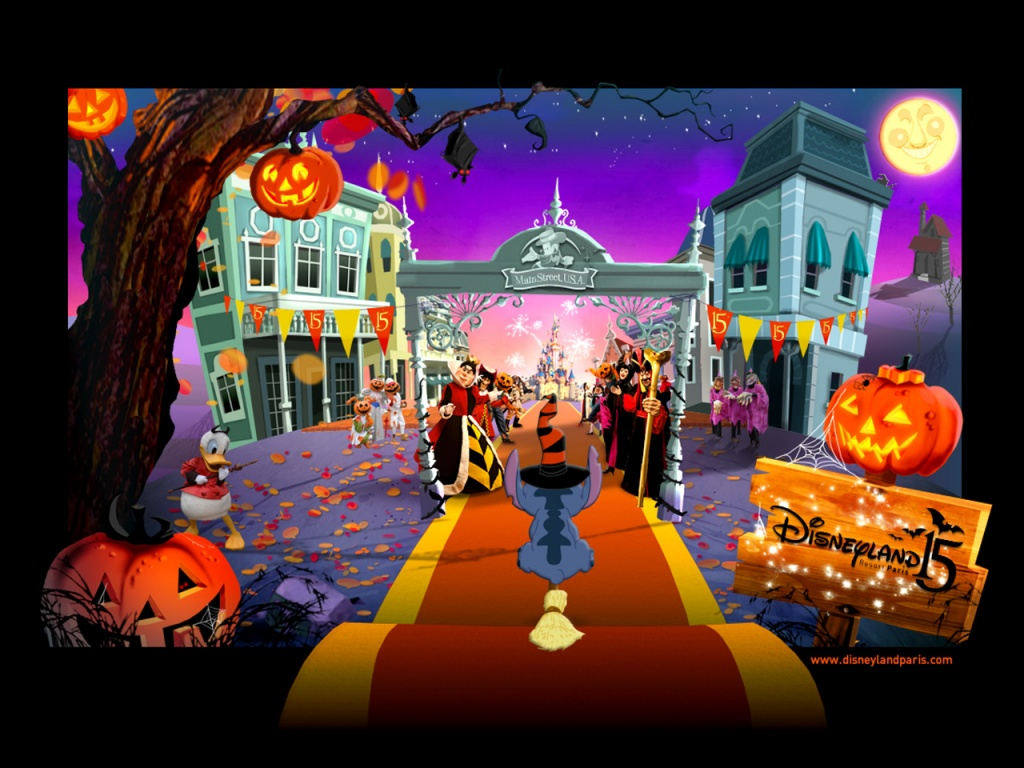 Desktop Wallpaper Disney Halloween Wallpaper 1024x768