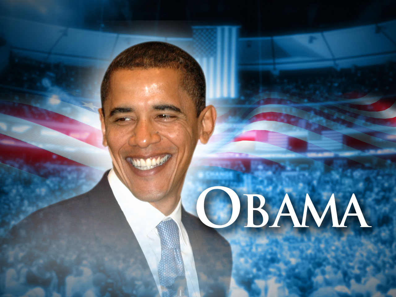 Barack Hussein Obama Wallpapers 1280x960