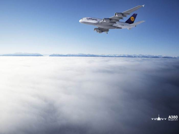Lufthansa Airbus A380 Wallpaper Pack The Aerial Blog 700x525