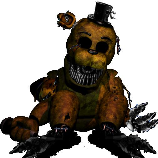 Nightmare Golden Freddy by NightmareBonnie730 505x505