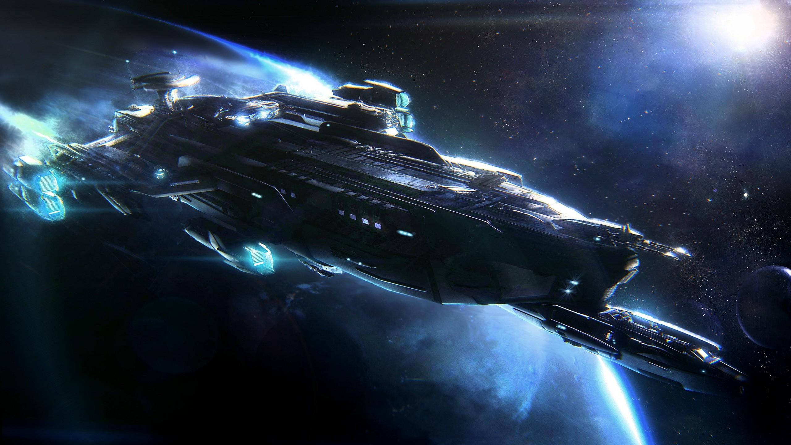 Star Citizen Idris Spaceship Wallpapers HD Desktop and 2560x1440