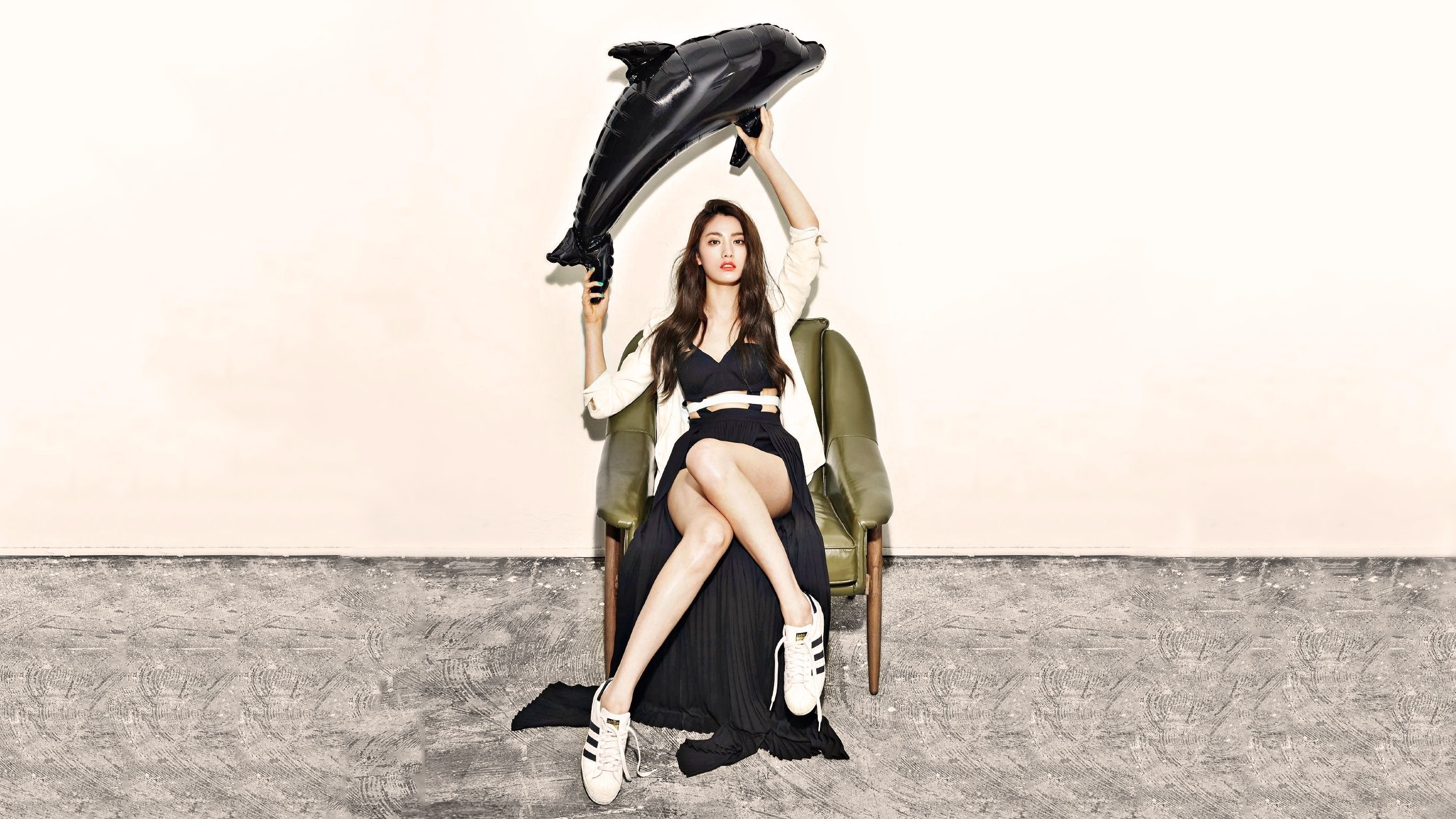 K pop Nana After School Orange Caramel Legs Korean 2660x1496