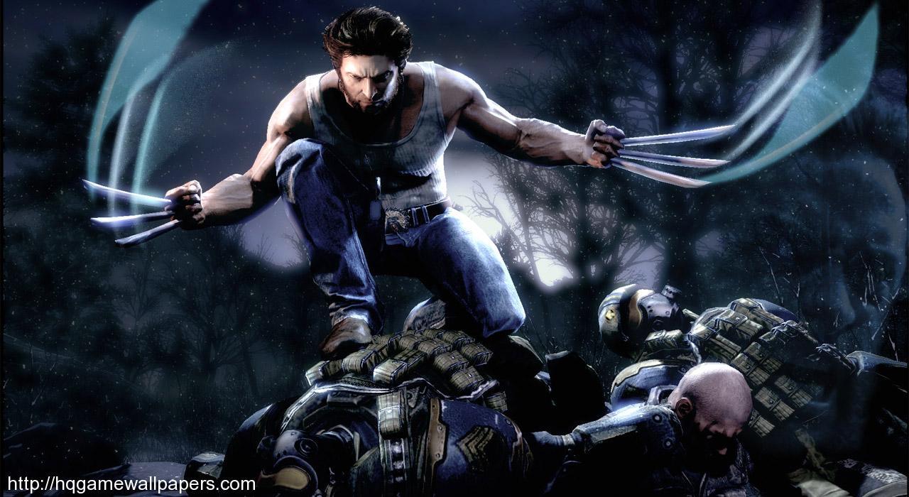 Download High Quality Game wallpaper named X Men Origins Wolverine 1280x700