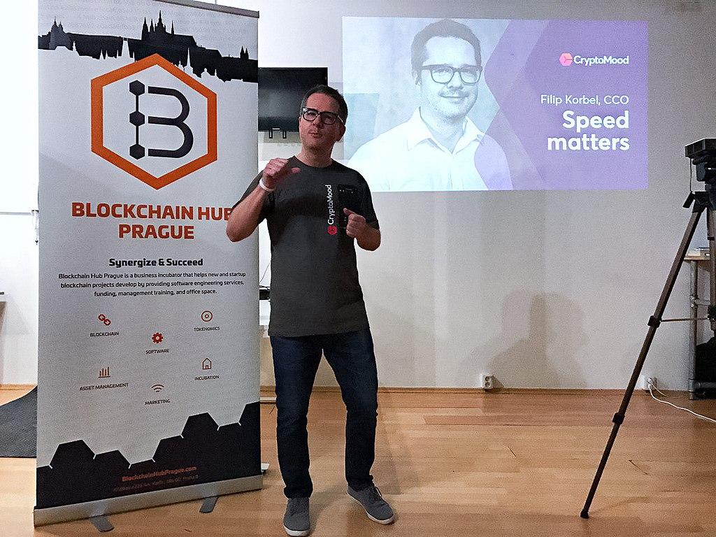 FileFilip Korbel at the presentation of CryptoMoodjpg 1024x768