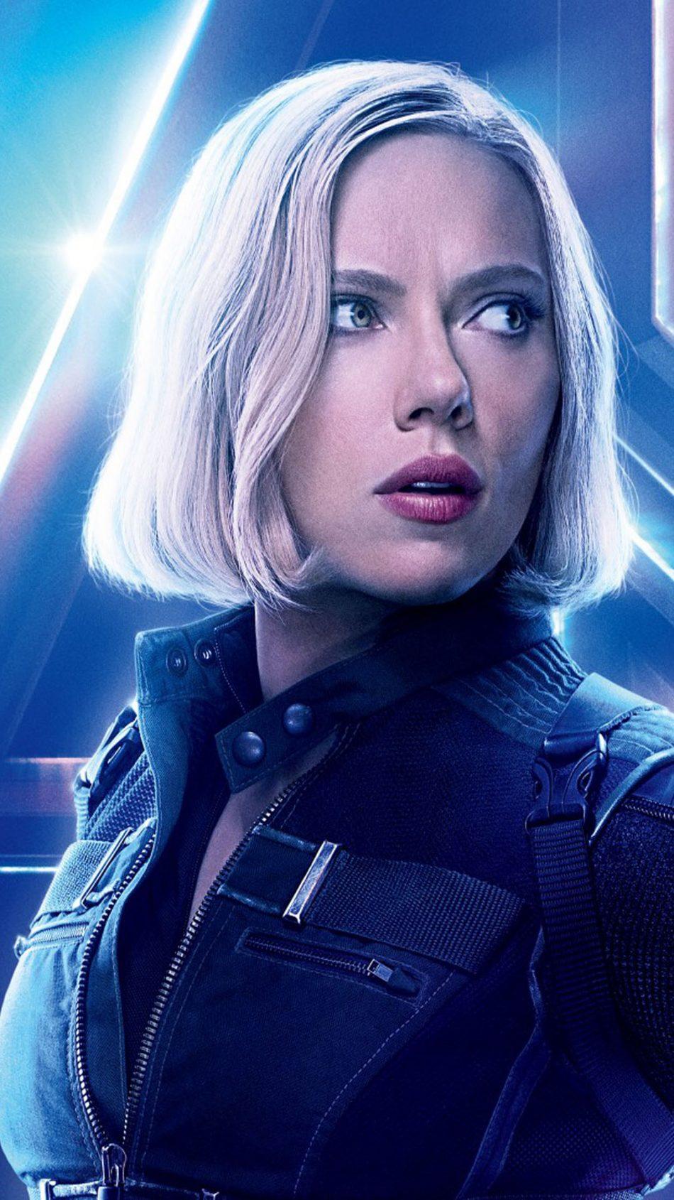 Download Scarlett Johansson In Avengers Infinity War Pure 4K 950x1689