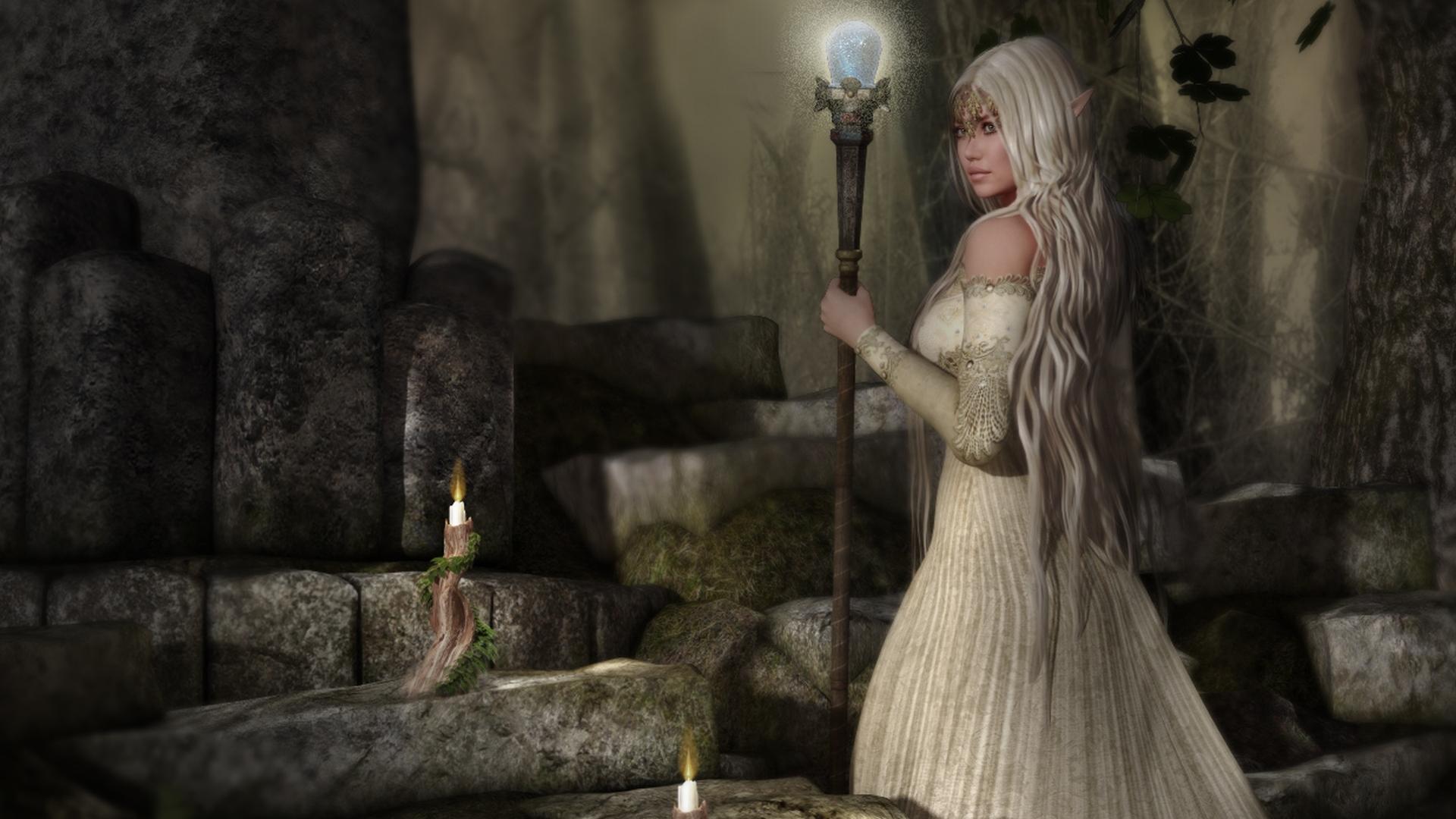 Fantasy   Witch Wallpaper 1920x1080