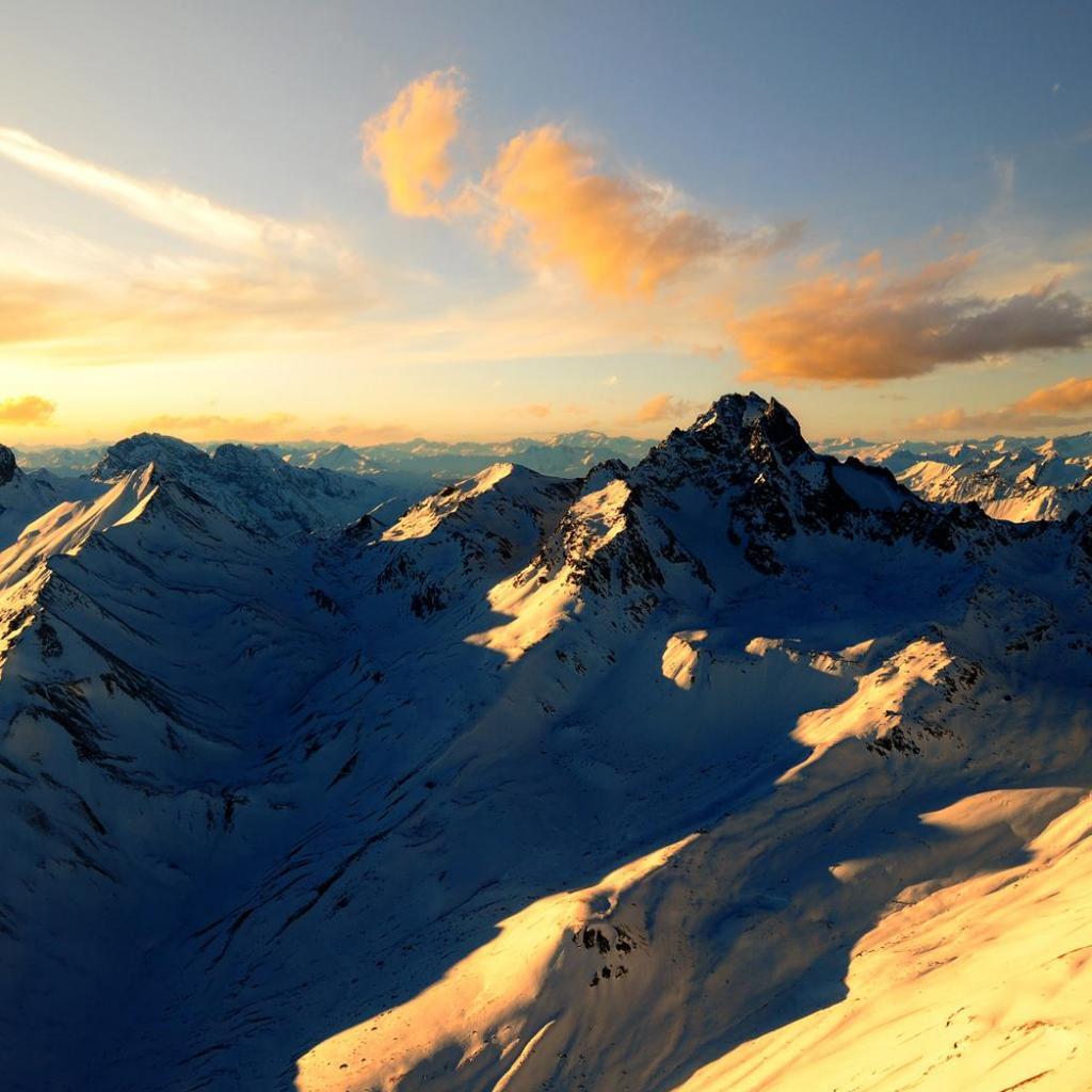 Beautiful Mountains iPad Wallpaper Download iPhone Wallpapers iPad 1024x1024