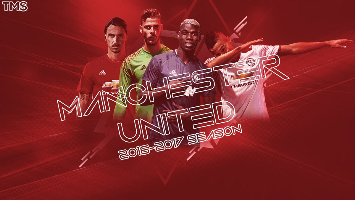 Manchester United 2016 2017 Season Wallpaper on Behance 1200x675