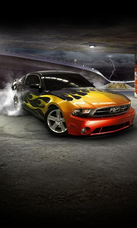Ford Mustang Wallpapers and Screensavers 480x800