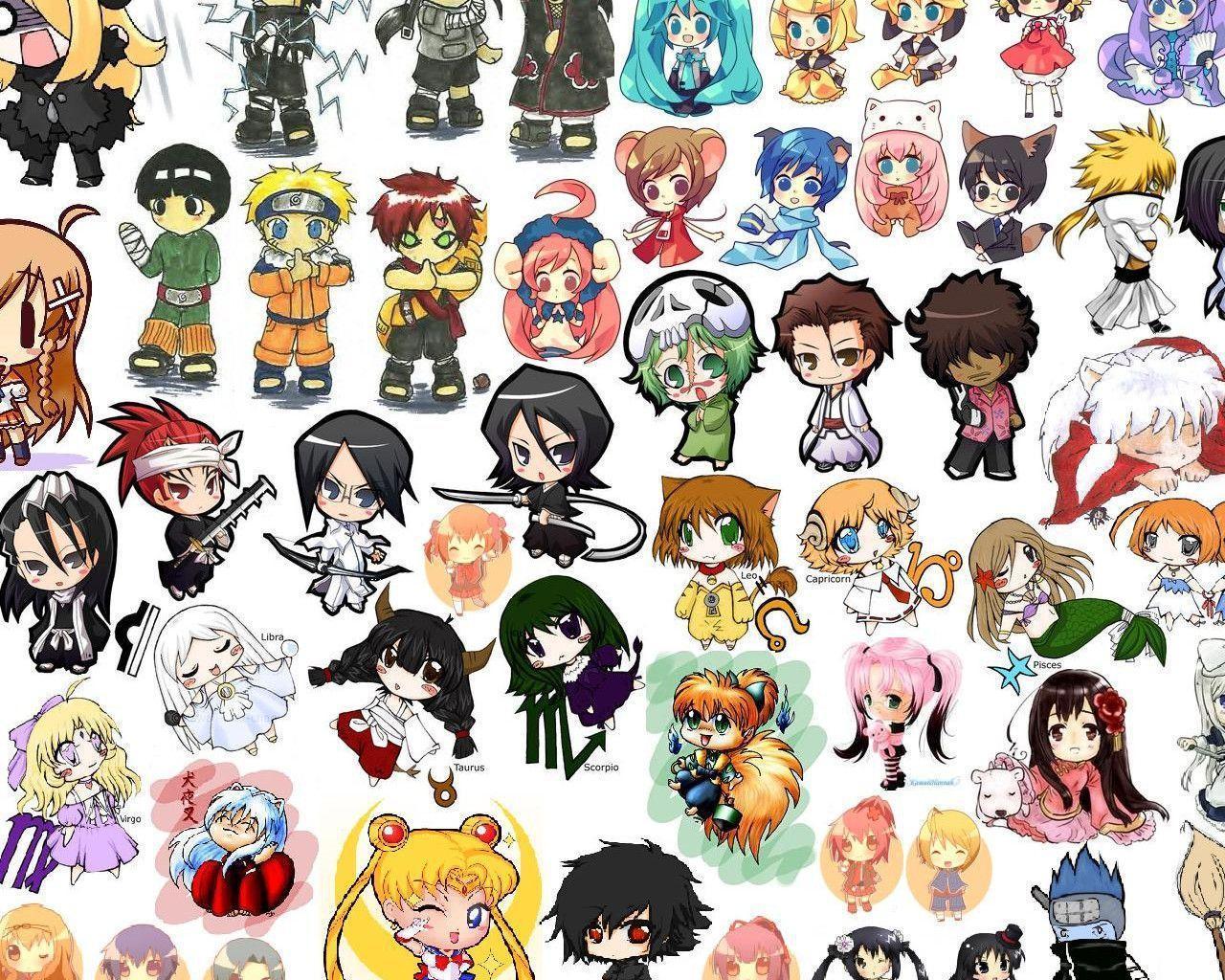 Anime Chibi Wallpapers 1280x1024