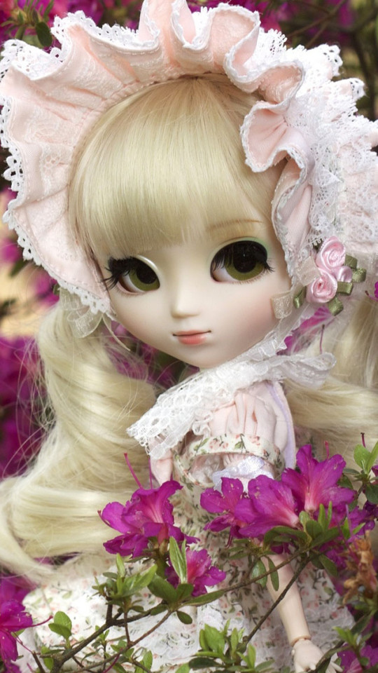 Cute Doll Girl iPhone 6 6 Plus and iPhone 54 Wallpapers 540x960