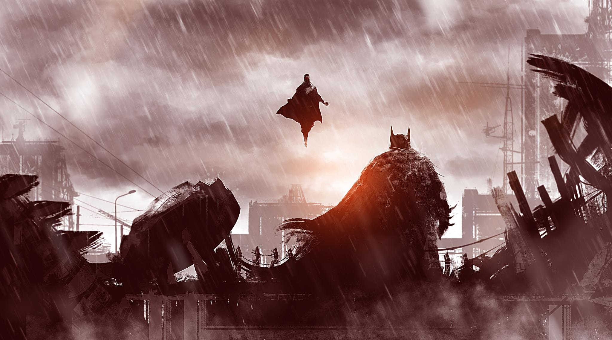 Batman v Superman Dawn of Justice HD wallpapers download 2048x1137