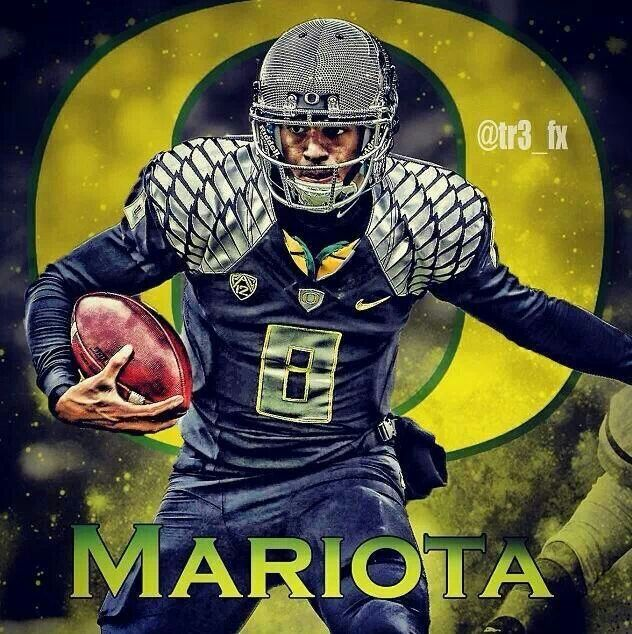 Oregon Ducks Backgrounds: Marcus Mariota HD Wallpaper