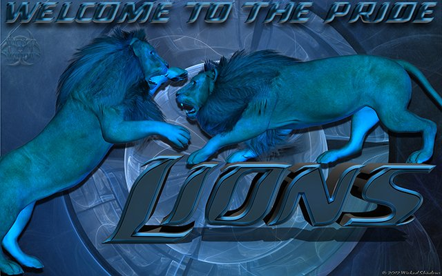 Detroit Lions Welcome to the Pride wallpaper 640x400