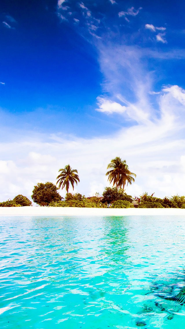 Dhiggiri Island Resort Maldives Wallpaper   iPhone Wallpapers 640x1136