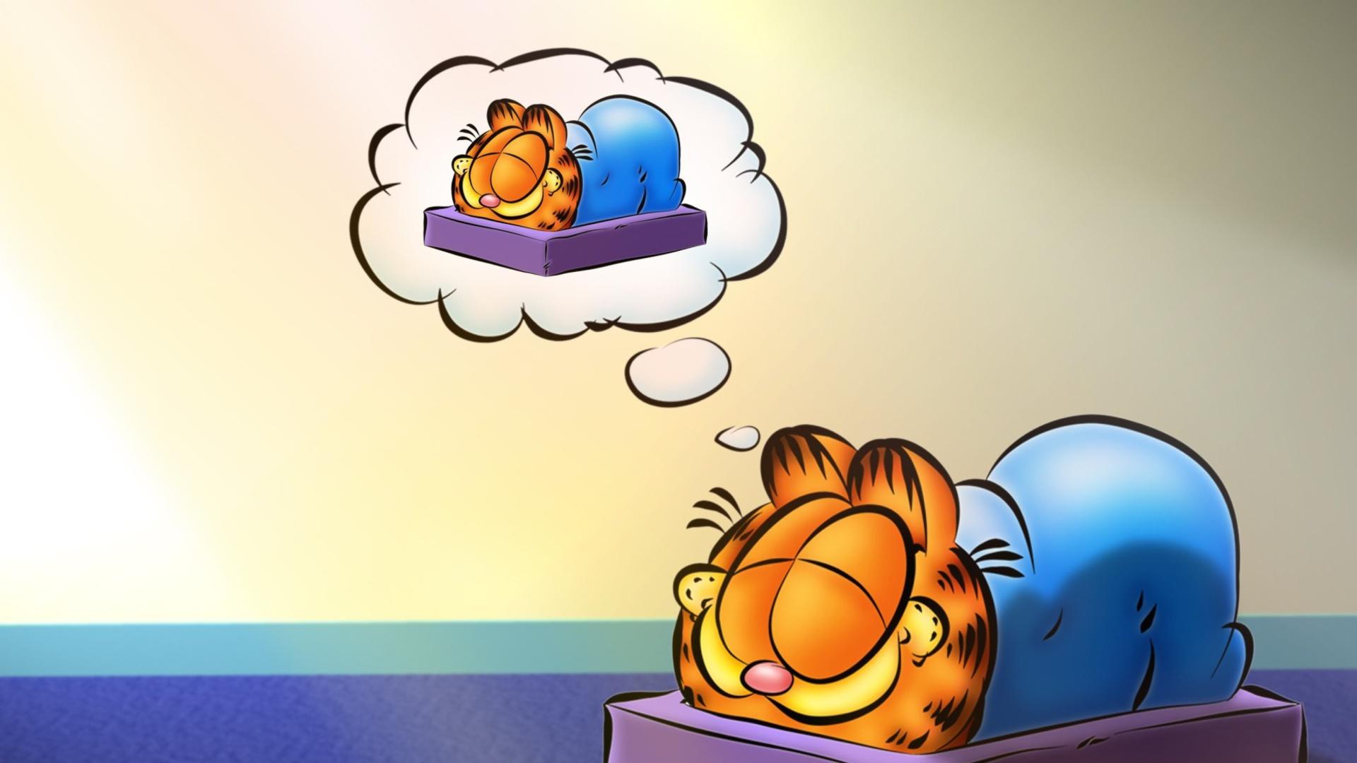 Garfield Sleep 1920x1080 wallpaper1920X1080 wallpaper screensaver 1920x1080